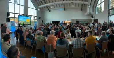 Komplett gefüllt war das Sailaufer Bürgerzentrum bei der informationsveranstlatung der Deutschen Glasfaser